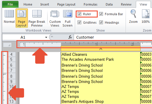 how to set page break in excel 2013 solving printing problems in excel projectwoman how to. Black Bedroom Furniture Sets. Home Design Ideas
