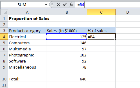 Excel Percentages How To Calculate Percentages